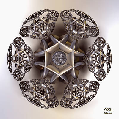 The Eye Of Harmony Art Print by Manny Lorenzo