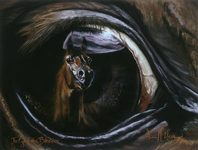 Wall Art - Pastel - The Eye Of The Beholder by Kim McElroy