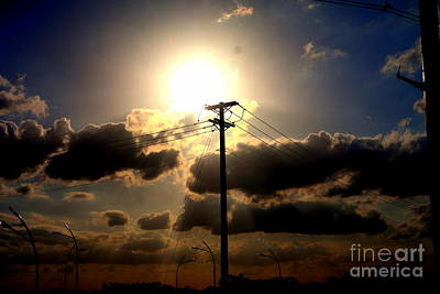 Photograph - The Eye Of The Evening Sun by Diana Mary Sharpton