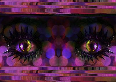 Digital Art - The Eyes Have It by Ericamaxine Price