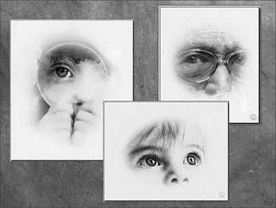 The Eyes Have It Print by Gun Legler