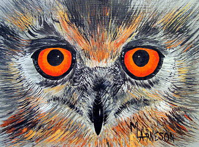 Painting - The Eyes Have It by Mary Arneson