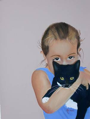 Pastel - The Eyes Have It by Michele Turney