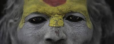 The Eyes Of A Holyman Art Print