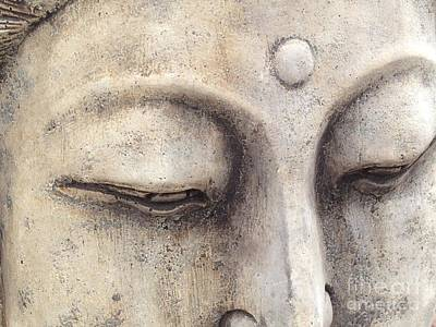 The Eyes Of Buddah Art Print