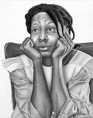 African-american Drawing - The Eyes Of The Beholder by Ron Watson