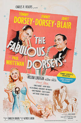 The Fabulous Dorseys, Us Poster, Top Art Print by Everett