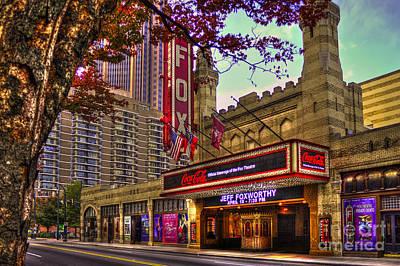 Photograph - The Fabulous Fox Theatre Atlanta Georgia by Reid Callaway