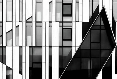 Germany Photograph - The Facade by Hans-wolfgang Hawerkamp