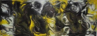 Mixed Media - The Face by Brenda Chapman