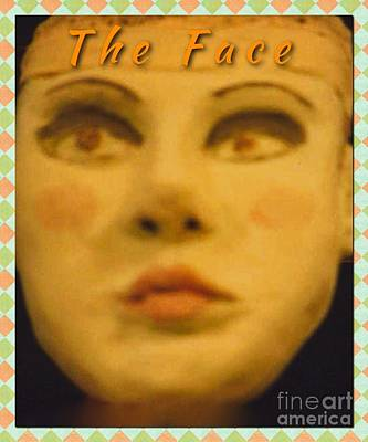 Ceramic Art - The Face by Joan-Violet Stretch