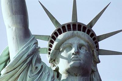 Photograph - The Face Of Liberty  by Allen Beatty