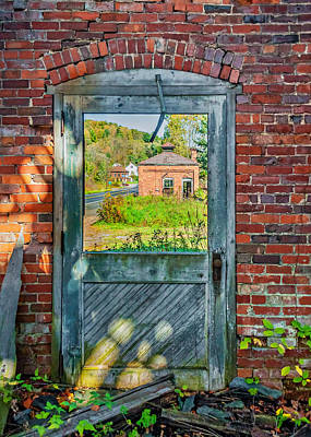 Pennsylvania Photograph - The Factory Door by Steve Harrington