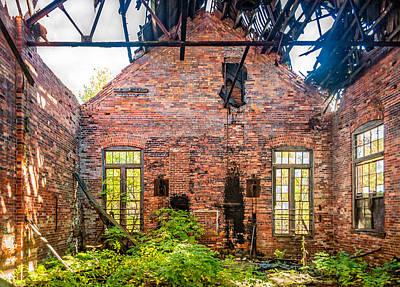Tree Photograph - The Factory Interior by Steve Harrington