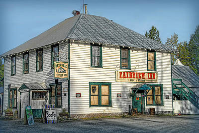 Photograph - The Fairview Inn Talkeetna Ak by Dyle   Warren