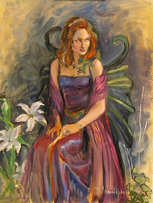 The Fairy Art Print by Dominique Amendola