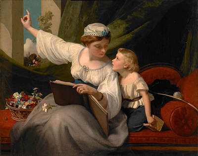 James Sant Painting - The Fairy Tale by James Sant