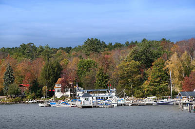 Photograph - The Fall Comes To Lake Winnipesaukee by Brenda Kean