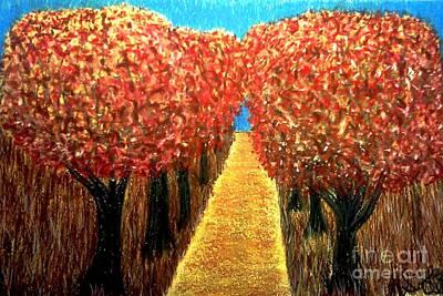 Pastel - The Fall by Neil Stuart Coffey