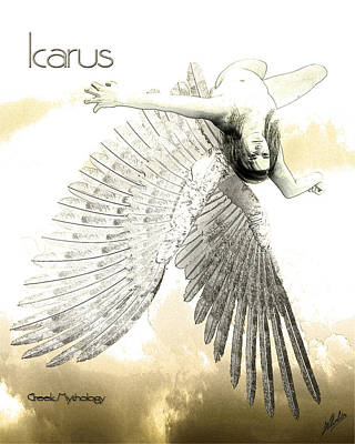 The Fall Of Icarus Art Print