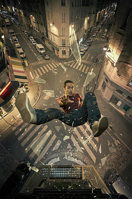 Brakes Photograph - The Fall by Olivier Deitte