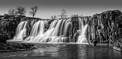 Photograph - The Falls 2 by Ray Van Gundy