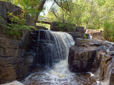 Duluth Photograph - the Falls by Alison Gimpel