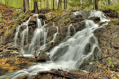 Photograph - The Falls At Mackenzie King Estate by Rob Huntley