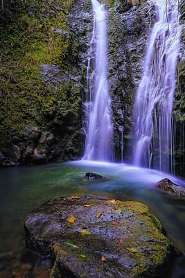 The Falls At Makamakaole Art Print