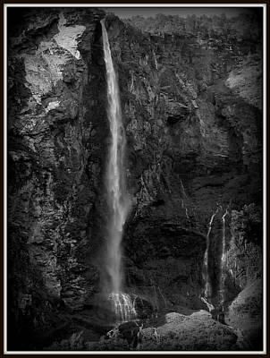 Photograph - The Falls by David Kovac