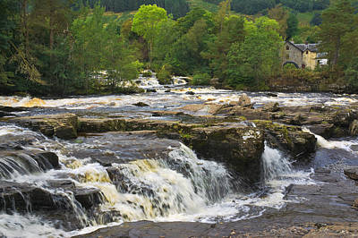 Photograph - The Falls Of Dochart Scotland by Jane McIlroy