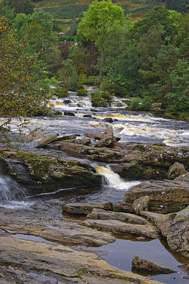 Photograph - The Falls Of Dochart - Vertical by Jane McIlroy