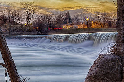 Photograph - The Falls Of White River by Ron Pate