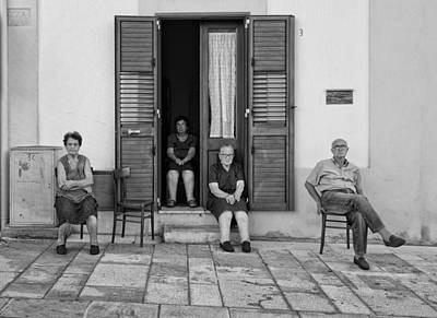 Old Door Wall Art - Photograph - The Family Team by Lorenzo Grifantini