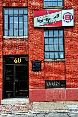 The Famous Narragansett Beer Art Print
