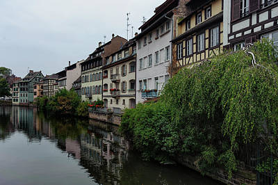 Colmar France Wall Art - Photograph - The Famous Part Of Colmar Called Petit by Wolfganggrilz