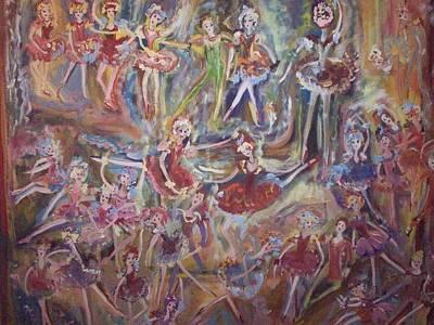 Thomas Kinkade Royalty Free Images - The fantastic waltz Royalty-Free Image by Judith Desrosiers