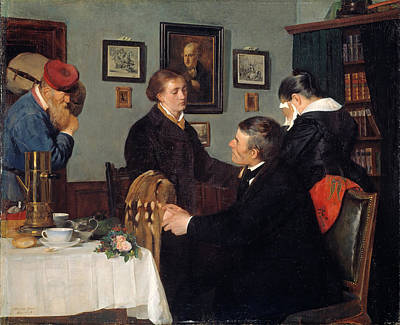 Crying Painting - The Farewell by Harriet Backer