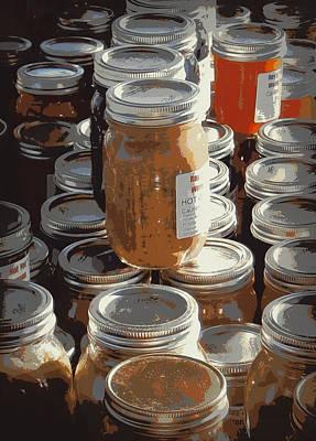 The Farmers Market Art Print by Karyn Robinson