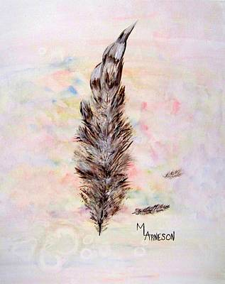Painting - The Feather by Mary Arneson