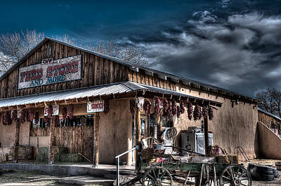 Photograph - The Feed Store by Chuck Summers