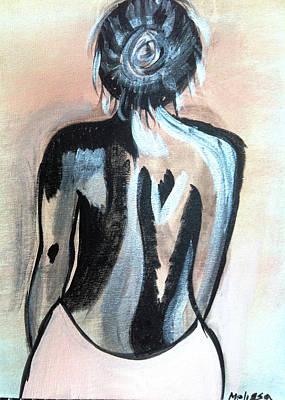 The Female Art Print by Melissa Jayne