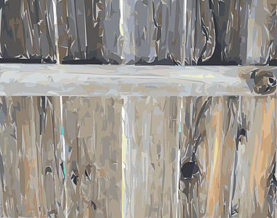 Bay Area Digital Art - The Fence by Nolan Schoichet