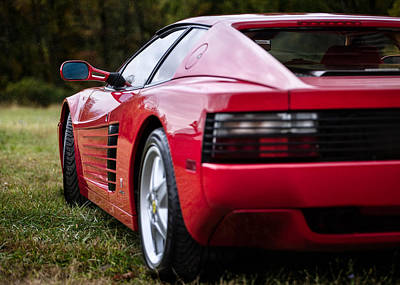 Photograph - The Ferrari 512 by Eduard Moldoveanu
