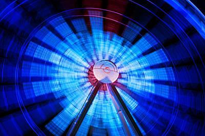 Photograph - The Ferris Wheel II by Mark Andrew Thomas