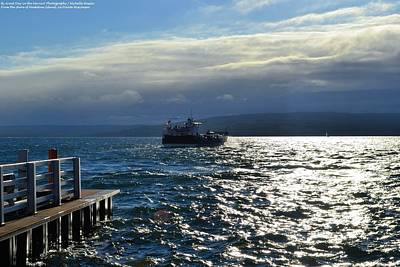 Photograph - The Ferry by Michelle and John Ressler