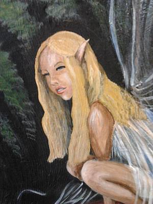 Painting - The Fey by Kristen R Kennedy