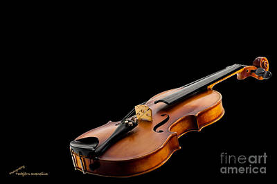 Violin Photograph - The Fiddle by Torbjorn Swenelius