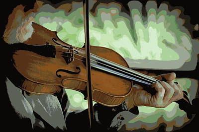 Photograph - The Fiddler 1 by Sheri McLeroy