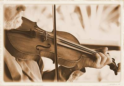Photograph - The Fiddler 2 by Sheri McLeroy